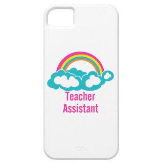 Teacher's Assistant Cloud Rainbow iPhone SE/5/5s Case