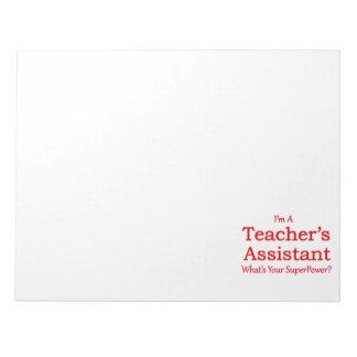 Teacher's Assistant Notepad