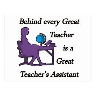 Teacher's Assistant Postcard