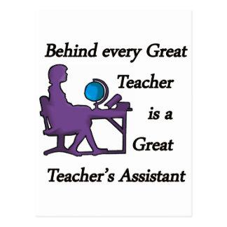 Teacher's Assistant Postcard