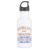 Teacher's Assistant Stainless Steel Water Bottle