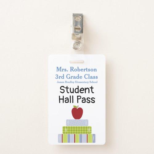Teachers Bathroom  Hall Pass Badge