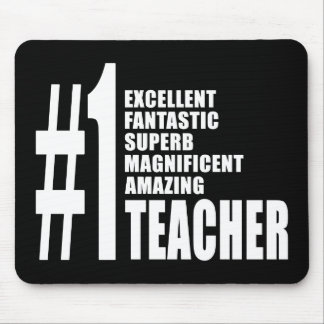 Teachers Birthdays Gifts : Number One Teacher Mouse Pad