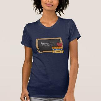 Teacher's Blackboard Congratulatory T-Shirt