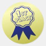 Teacher's Blue Ribbon Award Stickers