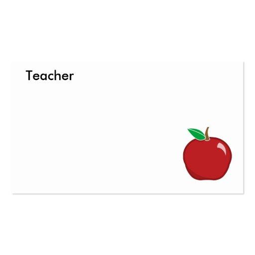 Teacher's Business Card-Customize