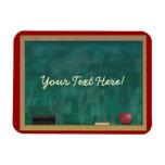 Teacher's Chalkboard Custom Premium Magnet