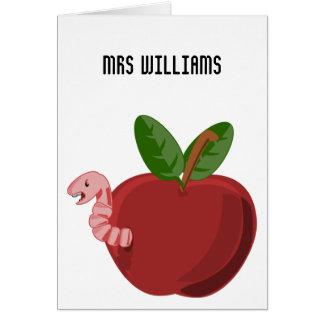 Teachers Change The Future Card