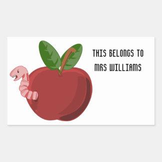 Teachers Change The Future Rectangular Sticker