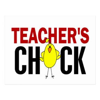 Teacher's Chick Postcard