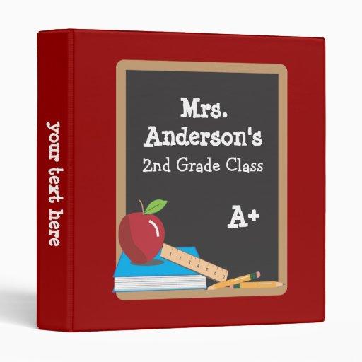 Teacher's Classroom Blackboard Binder