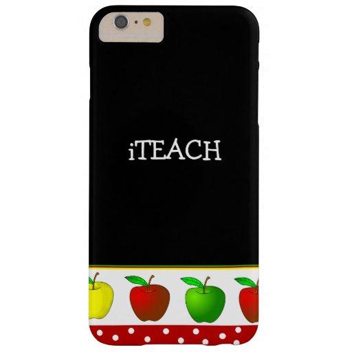 Teacher's Colorful Apples iPhone 6 Plus case