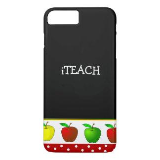 Teacher's Colorful Apples iPhone 7 Plus case