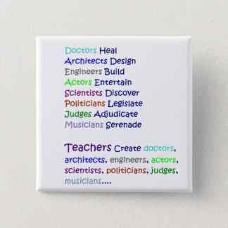 Teachers Create Button