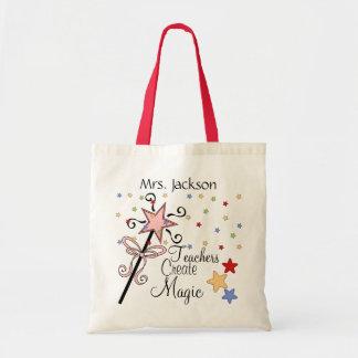 Teachers Create Magic by SRF Tote Bag