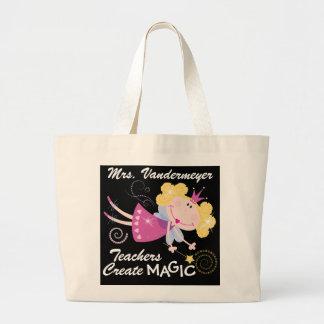 Teachers Create Magic - SRF Large Tote Bag