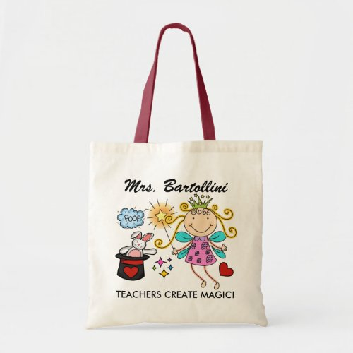 Teachers Create Magic _ SRF Tote Bag