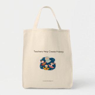 TEACHERS CREATE Tote Bag by April McCallum