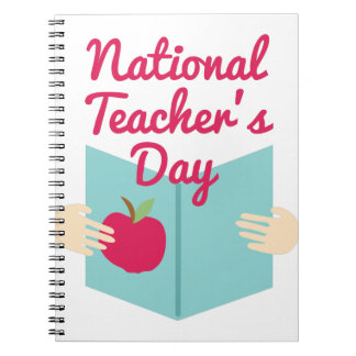 Teacher's Day Notebooks