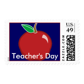 Teacher's Day Postal Stamp- Customize Postage