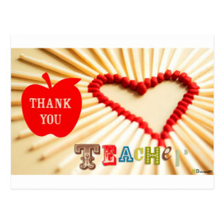 teachers day postcard