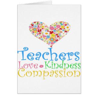 Teachers Do Children a World of Good! Card
