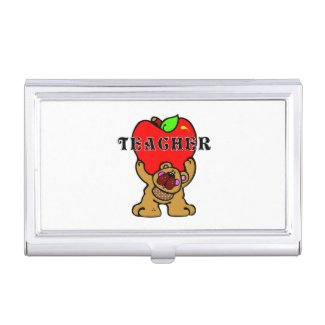 Teachers Apples Business Card Cases