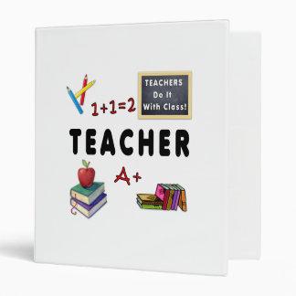 Teachers Do It With Class 3 Ring Binder