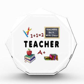 Teachers Do It With Class Acrylic Award