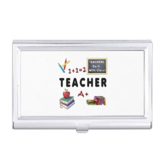 Teacher business card holders and more!  Click to see our Teacher Section..........