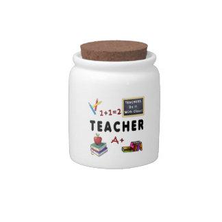 Teachers Do It With Class Candy Jar