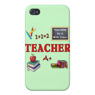 Teachers Do It With Class Cover For iPhone 4
