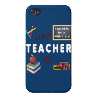 Teachers Do It With Class iPhone 4/4S Cases