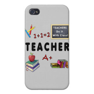 Teachers Do It With Class iPhone 4 Case