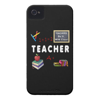 Teachers Do It With Class iPhone 4 Case-Mate Case
