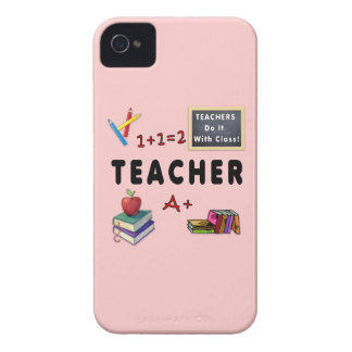 Teachers Do It With Class iPhone 4 Cover