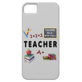 Teachers Do It With Class iPhone SE/5/5s Case