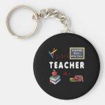 Teachers Do It With Class Key Chain