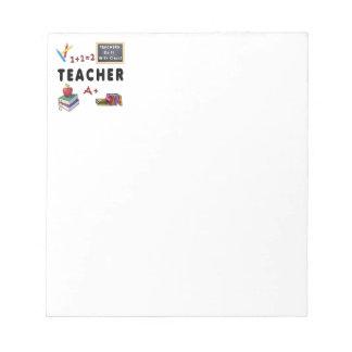 Teachers Do It With Class Memo Notepads