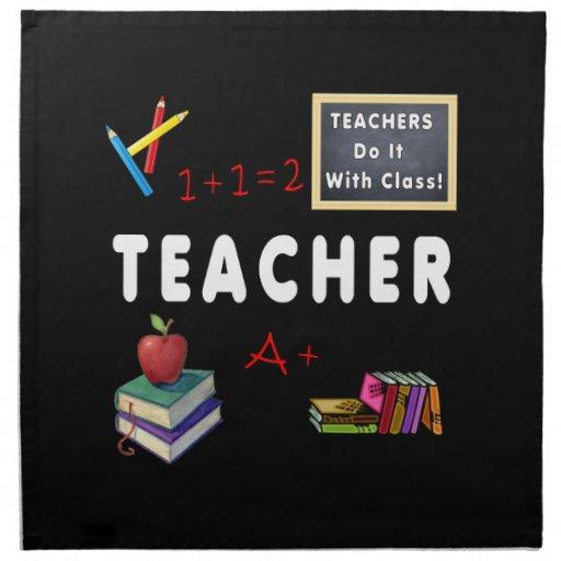 Teachers Do It With Class Napkin