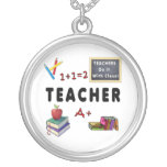 Teachers Do It With Class Necklace