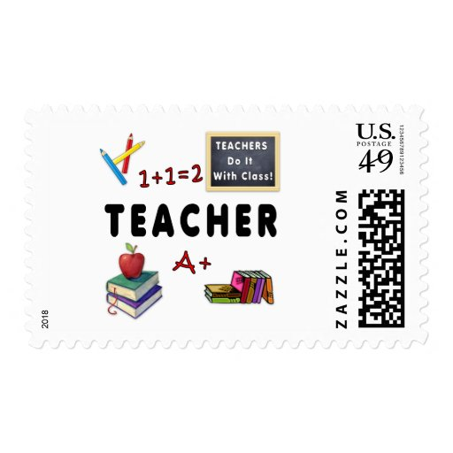 Teachers Do It With Class Stamps