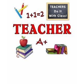 Teachers Do It With Class T-Shirt shirt