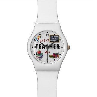 Teachers Do It With Class Wristwatches