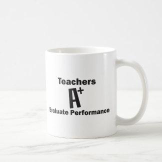Teachers Evaluate Classic White Coffee Mug