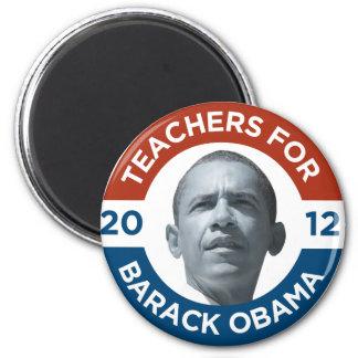 Teachers For Barack Obama Biden 2012 Magnet