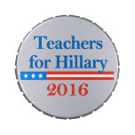Teachers for Hillary Clinton in 2016! Jelly Belly Tins