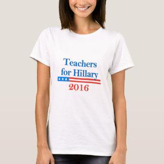 Teachers for Hillary Clinton in 2016! T-Shirt