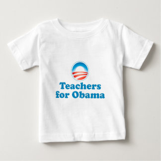 Teachers for Obama Baby T-Shirt