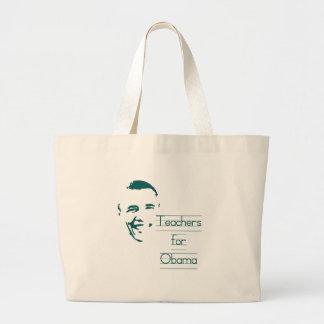 Teachers for Obama Tote Bag